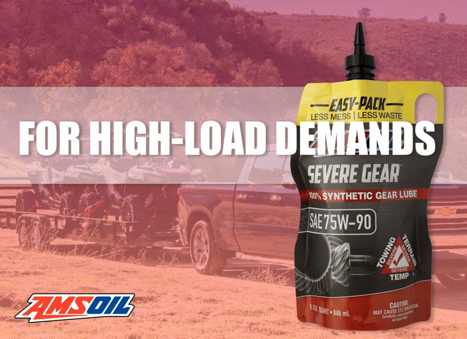 Severe Gear 75W-90 for high load demands